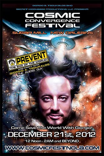 Cosmic Fest Poster