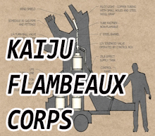 Kaiju Flambeaux Corps